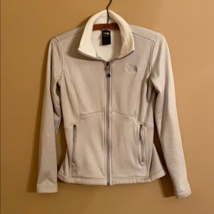 The North Face Grey Thick Fleece Jacket